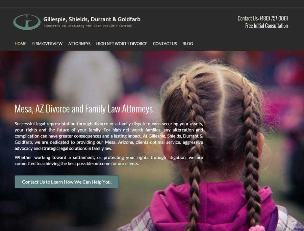 responsive lawyer website designs