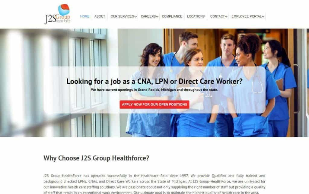 Helathcare Staffing, Grand Rapids, MI