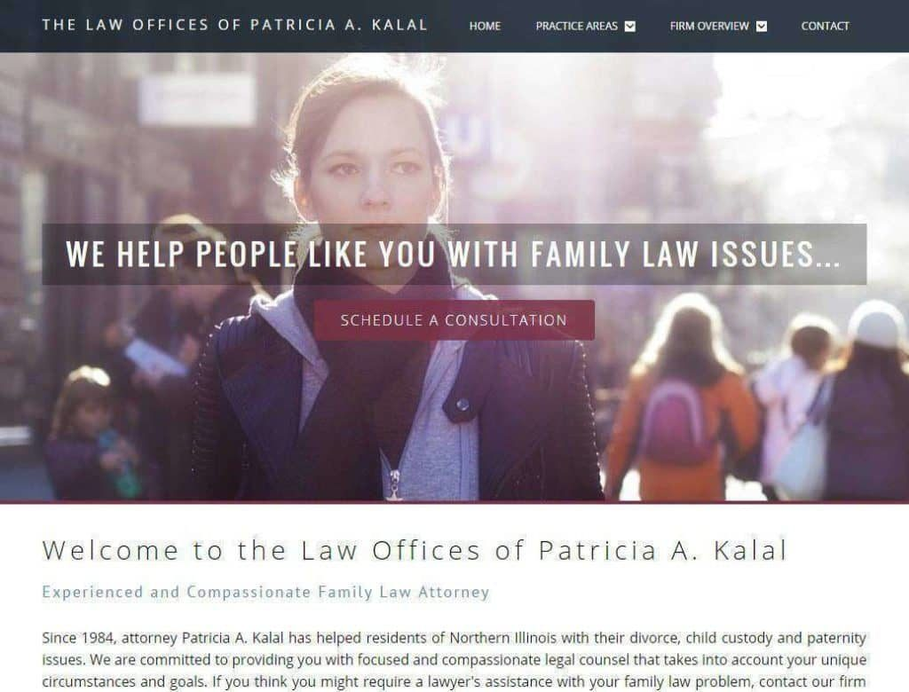 divorce lawyer website designers
